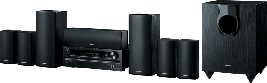 Onkyo HT-S5600 7.1 Channel Home Theater Receiver Speaker Package