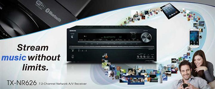Onkyo TX-NR626 Wireless