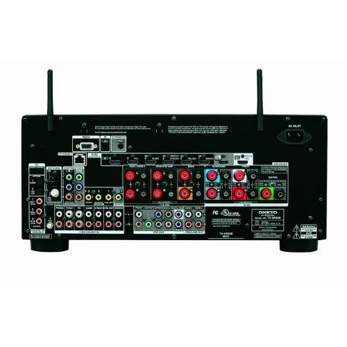 Onkyo TX-NR838 7.2-Ch Network A/V Receiver w/ HDMI 2.0 Rear View