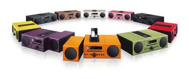 Yamaha colors, Yamaha MCR-B142RE Desktop Audio Bluetooth System