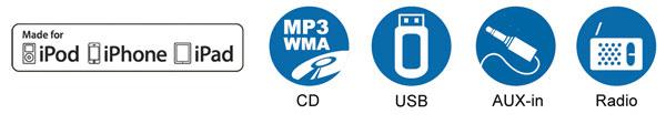 Yamaha sound system, Yamaha MCR-B142RE Desktop Audio Bluetooth System